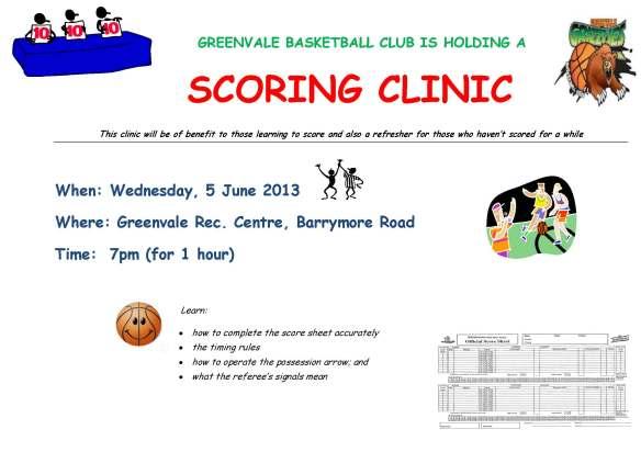 Scoring Clinic