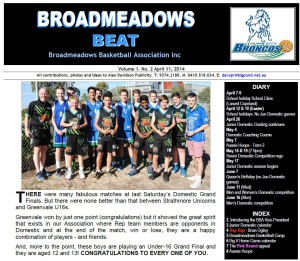 Broadmeadows beat